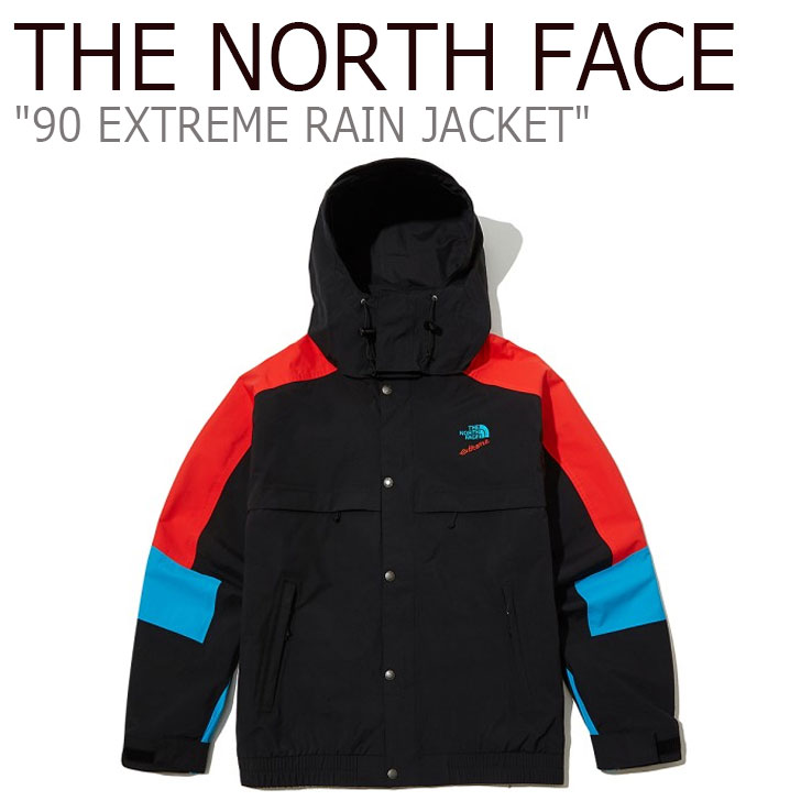 ノースフェイス ジャケット THE NORTH FACE メンズ 90 EXTREME RAIN JACKET 90 エクストリーム レーンジャケット BLACK ブラック NJ2HL00A ウェア 【中古】未使用品