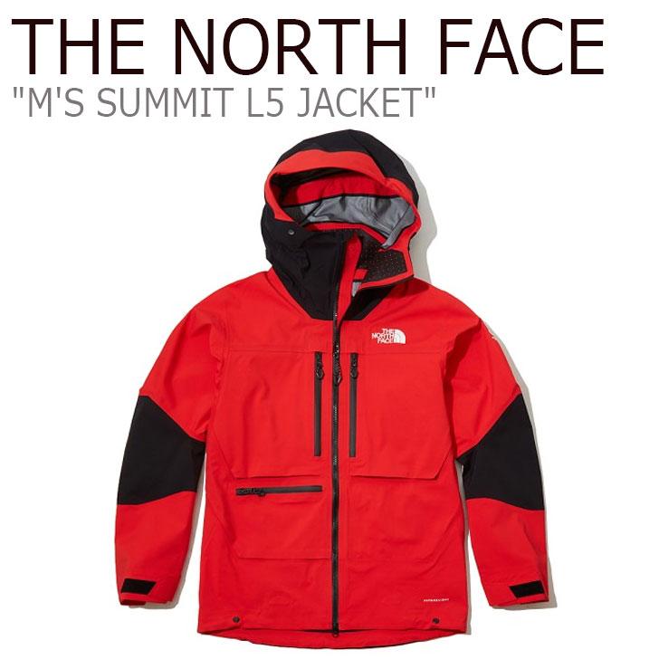 ノースフェイス マウンテンジャケット THE NORTH FACE メンズ M'S SUMMIT L5 JACKET サミット L5ジャケット RED レッド NJ2HL11B ウェア 【中古】未使用品