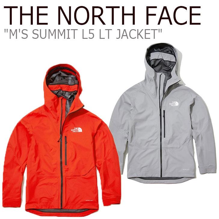 ノースフェイス マウンテンジャケット THE NORTH FACE メンズ M'S SUMMIT L5 LT JACKET サミット L5 LTジャケット RED レッド GRAY グレー NJ2HL12A/B ウェア 【中古】未使用品