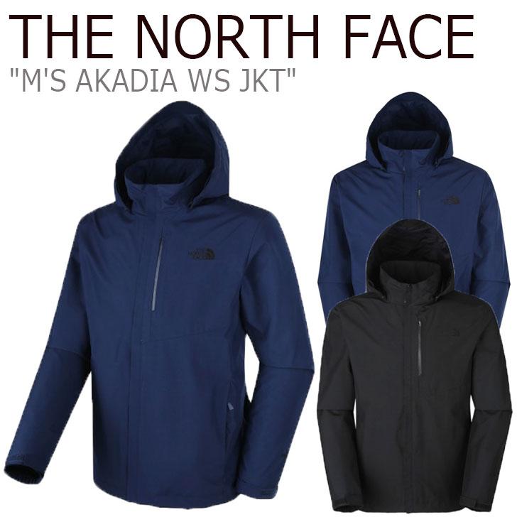 ノースフェイス ジャケット THE NORTH FACE メンズ M'S AKADIA WS JKT アカディア ジャケット BLACK ブラック NAVY ネイビー NJ2WK03A/B ウェア 【中古】未使用品