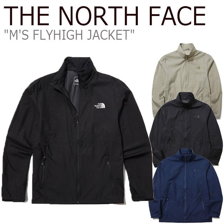 ノースフェイス ジャケット THE NORTH FACE メンズ M'S FLYHIGH JACKET フライハイジャケット NAVY ネイビー BLACK ブラック CHARCOAL チャコール BEIGE ベージュ NJ3LL04A/B/C/D ウェア 【中古】未使用品