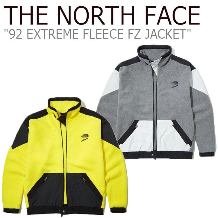 フリース ノースフェイス THE NORTH FACE メンズ 92 EXTREME FLEECE FZ JACKET 92 エクストリーム フリース フルジップ ジャケット 全2色 NJ4FL00A/B ウェア 【中古】未使用品