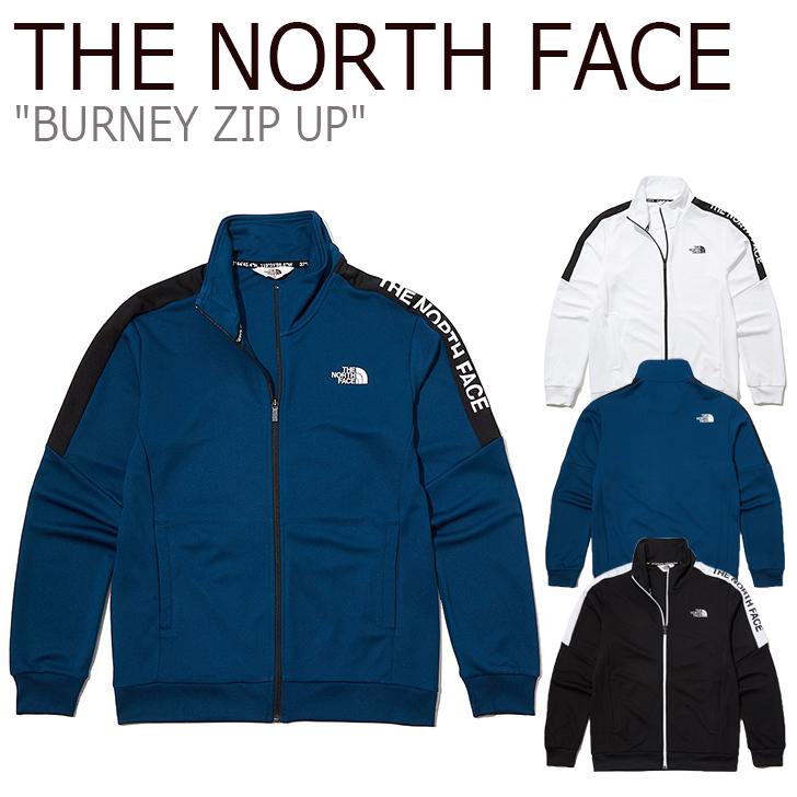 ノースフェイス ジャケット THE NORTH FACE メンズ レディース BURNEY ZIP UP バーニー ジップアップ WHITE ホワイト BLACK ブラック BLUE ブルー NJ5JL03J/K/L ウェア 【中古】未使用品