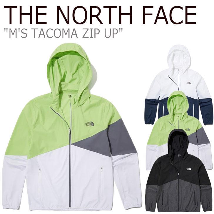 ノースフェイス ジャケット THE NORTH FACE メンズ M'S TACOMA ZIP UP タコマ ジップアップ GREEN グリーン BLACK ブラック NAVY ネイビー NJ5JL06J/K/L ウェア 【中古】未使用品