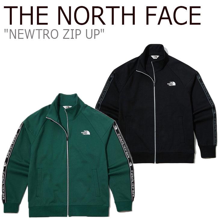 ノースフェイス ジャージ THE NORTH FACE メンズ レディース NEWTRO ZIP UP ニュートロ ジップアップ GREEN グリーン BLACK ブラック NJ5JL50J/K ウェア 【中古】未使用品