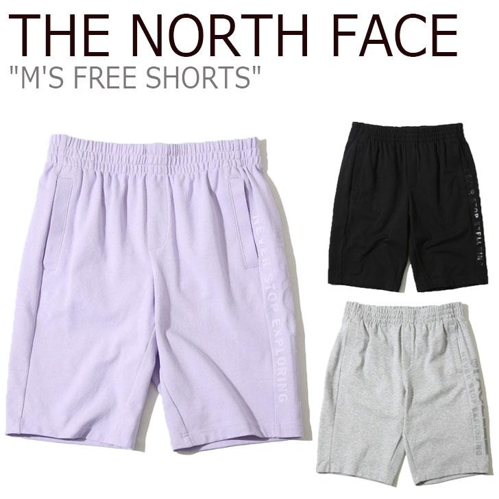 ノースフェイス ハーフパンツ THE NORTH FACE メンズ M'S FREE SHORTS フリー ショーツ BLACK ブラック GREY グレー LILAC ライラック NS6KK03J/K/L ウェア 【中古】未使用品