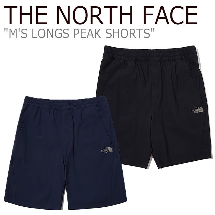 ノースフェイス ハーフパンツ THE NORTH FACE メンズ M'S LONGS PEAK SHORTS ロングス ピーク ショーツ DARK NAVY ネイビー BLACK ブラック NS6KL03J/K ウェア 【中古】未使用品