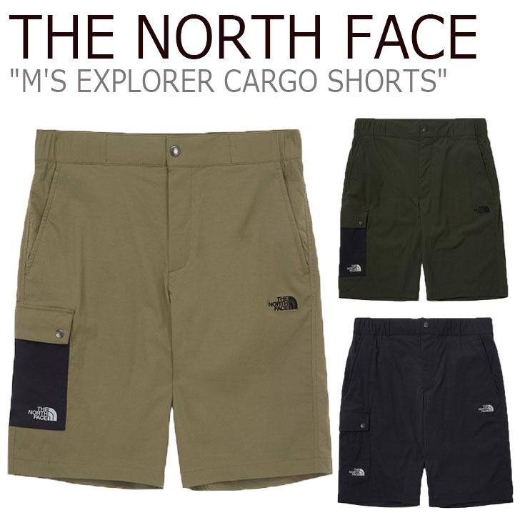 ノースフェイス ハーフパンツ THE NORTH FACE メンズ M'S EXPLORER CARGO SHORTS エクスプローラー カーゴ ショーツ 全3色 NS6NL09A/B/C ウェア 【中古】未使用品