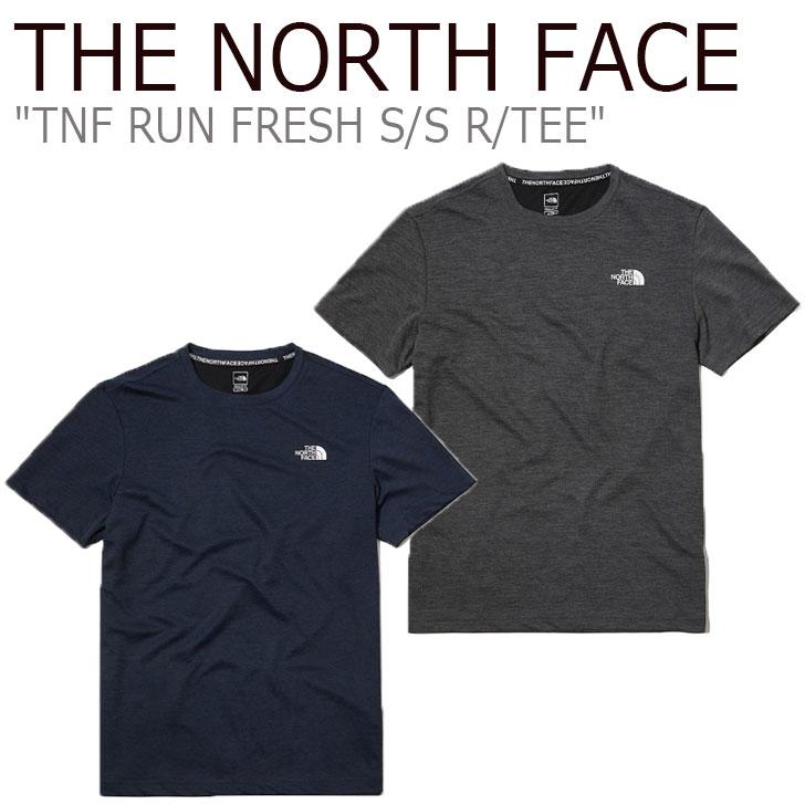 ノースフェイス Tシャツ THE NORTH FACE メンズ レディース TNF RUN FRESH S/S R/TEE ラン フレッシュ ショートスリーブ ラウンドTEE 全2色 NT7UL06B/C ウェア 【中古】未使用品