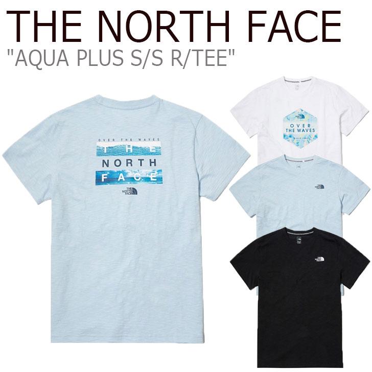 ノースフェイス Tシャツ THE NORTH FACE メンズ レディース AQUA PLUS S/S R/TEE アクア プラス ショートスリーブ ラウンドTEE 全3色 NT7UL11A/B/C ウェア 【中古】未使用品