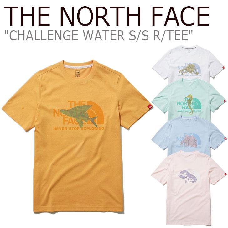 ノースフェイス Tシャツ THE NORTH FACE メンズ レディース CHALLENGE WATER S/S R/TEE チャレンジ ウォーター ショートスリーブ ラウンドTEE 全5色 NT7UL12A/B/C/D/E ウェア 【中古】未使用品