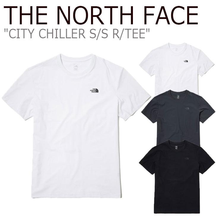 ノースフェイス Tシャツ THE NORTH FACE メンズ レディース CITY CHILLER S/S R/TEE シティ チラー ショートスリーブ ラウンドTEE 全3色 NT7UL18A/B/C ウェア 【中古】未使用品