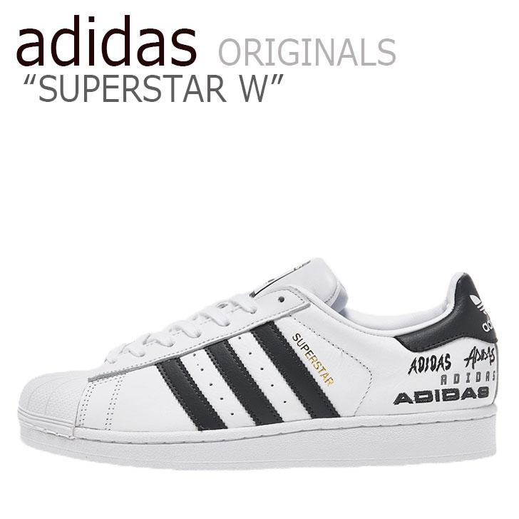 アディダス スーパースター スニーカー adidas メンズ レディース SUPERSTAR W スーパースター WHITE ホワイト EH1214 シューズ 【中古】未使用品