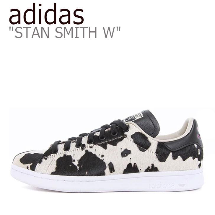 アディダス スタンスミス スニーカー adidas メンズ レディース STAN SMITH W スタン スミス BLACK ブラック FV3087 シューズ 【中古】未使用品