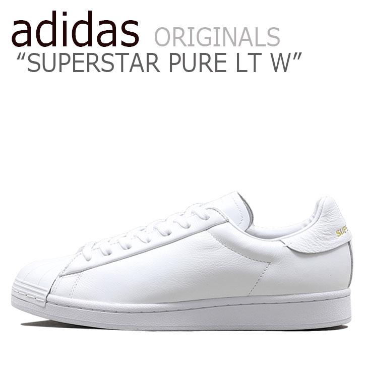アディダス スーパースター スニーカー adidas メンズ レディース SUPERSTAR PURE LT W スーパースター ピュア WHITE ホワイト FV3352 シューズ 【中古】未使用品