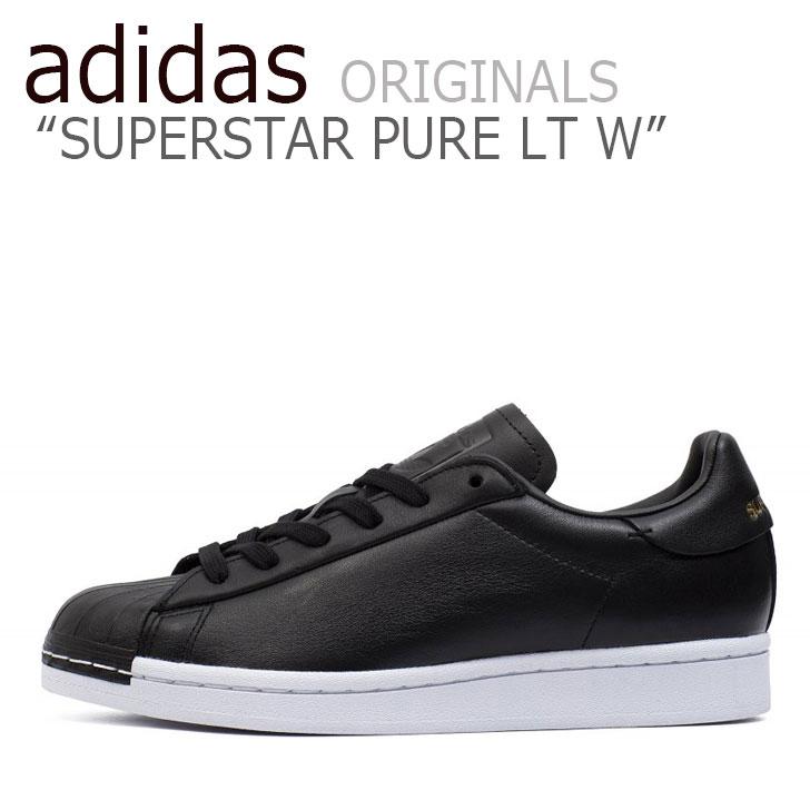 アディダス スーパースター スニーカー adidas メンズ レディース SUPERSTAR PURE LT W スーパースター ピュア BLACK ブラック FV3353 シューズ 【中古】未使用品