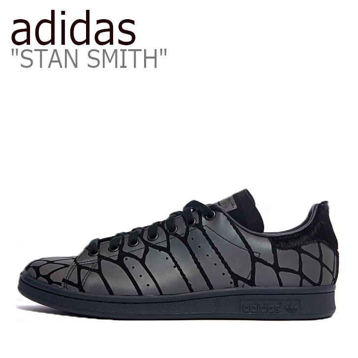 アディダス スタンスミス スニーカー adidas メンズ レディース STAN SMITH スタン スミス BLACK ブラック FV4284 シューズ 【中古】未使用品