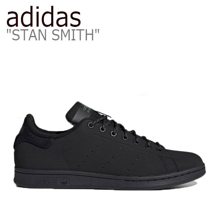 アディダス スタンスミス スニーカー adidas メンズ レディース STAN SMITH スタン スミス BLACK ブラック FV4641 シューズ 【中古】未使用品