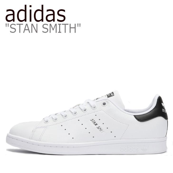 アディダス スタンスミス スニーカー adidas メンズ STAN SMITH スタン スミス WHITE ホワイト BLACK ブラック FV7875 シューズ 【中古】未使用品