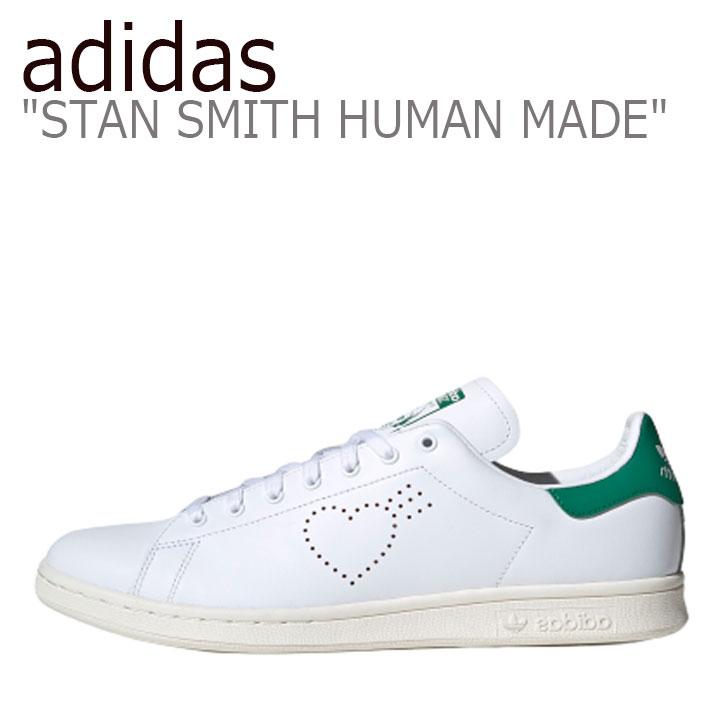 アディダス スタンスミス スニーカー adidas メンズ レディース STAN SMITH スタン スミス WHITE ホワイト GREEN グリーン FX4259 シューズ 【中古】未使用品