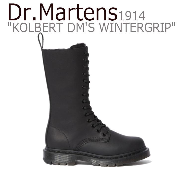 ドクターマーチン スニーカー Dr.Martens メンズ レディース 1914 KOLBERT DM'S WINTERGRIP 1914 コルバート DM'S ウィンターグリップ BLACK ブラック 24977001 シューズ 【中古】未使用品
