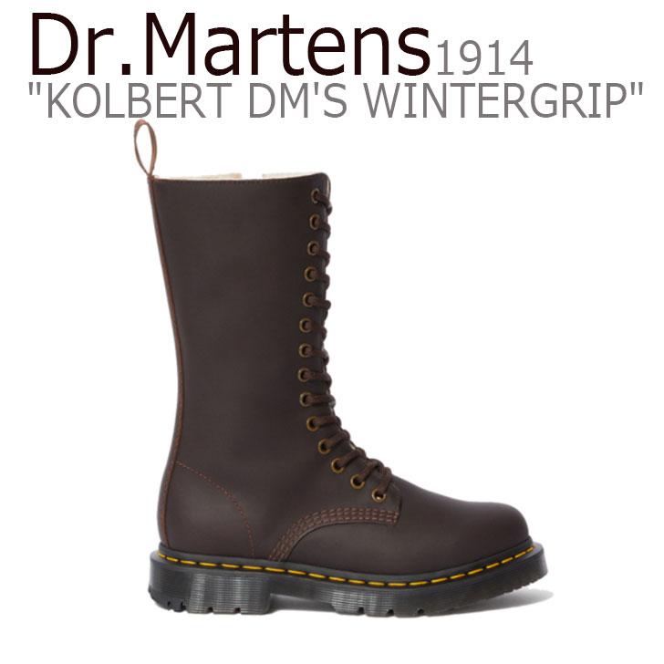 ドクターマーチン スニーカー Dr.Martens メンズ レディース 1914 KOLBERT DM'S WINTERGRIP 1914 コルバート DM'S ウィンターグリップ BROWN ブラウン 24977201 シューズ 【中古】未使用品
