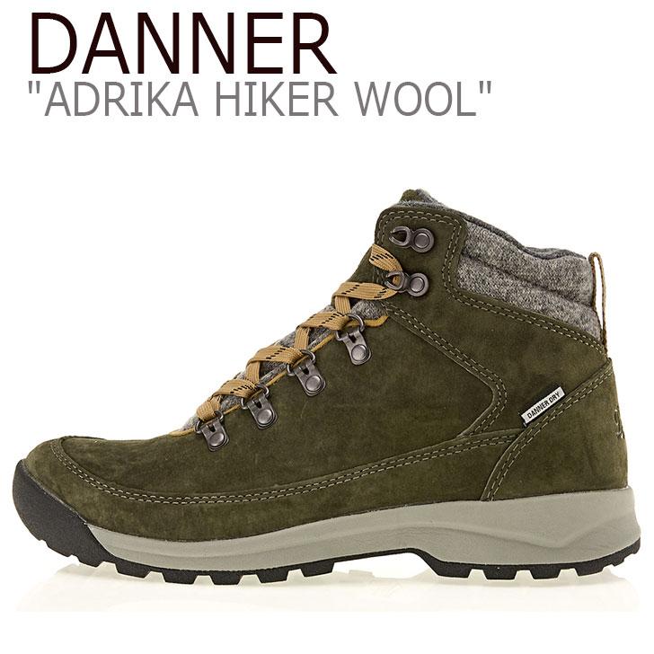 ダナー スニーカー DANNER レディース ADRIKA HIKER WOOL アドリカ ハイカー ウール OLIVE オリーブ 30321 シューズ