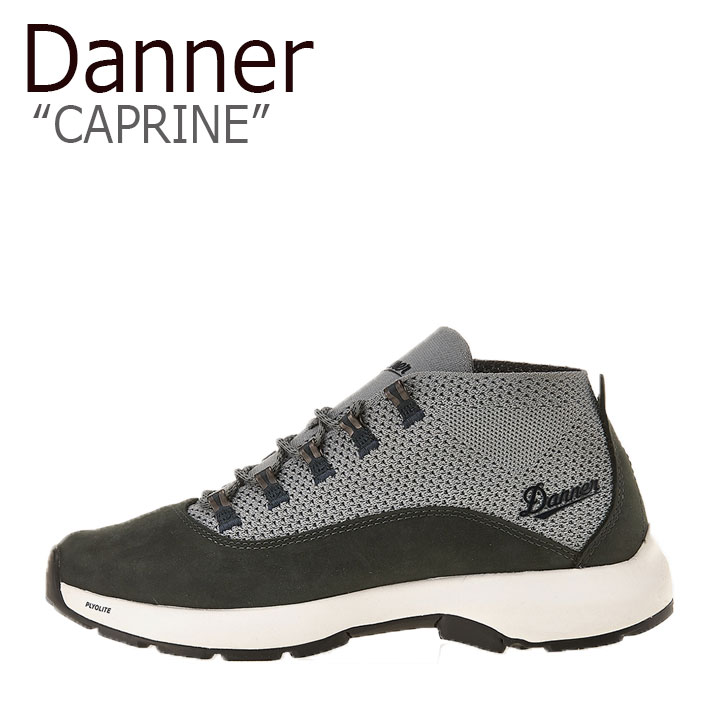 ダナー スニーカー DANNER メンズ CAPRINE カプリーン GRAY グレー BLACK ブラック 31362 シューズ