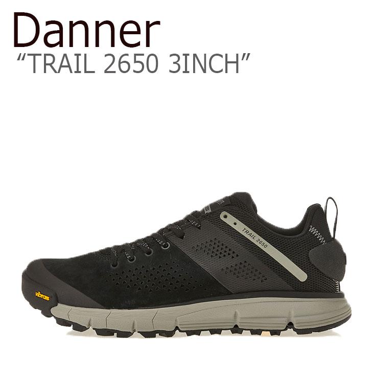 ダナー スニーカー DANNER メンズ TRAIL 2650 3INCH トレイル2650 3インチ BLACK ブラック GRAY グレー 61275 シューズ
