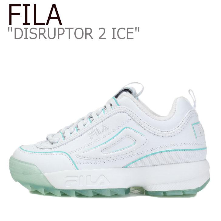 フィラ ディスラプター スニーカー FILA レディース DISRUPTOR 2 ICE ディスラプター2 アイス BLUE ブルー WHITE ホワイト FS1HTB3473F シューズ