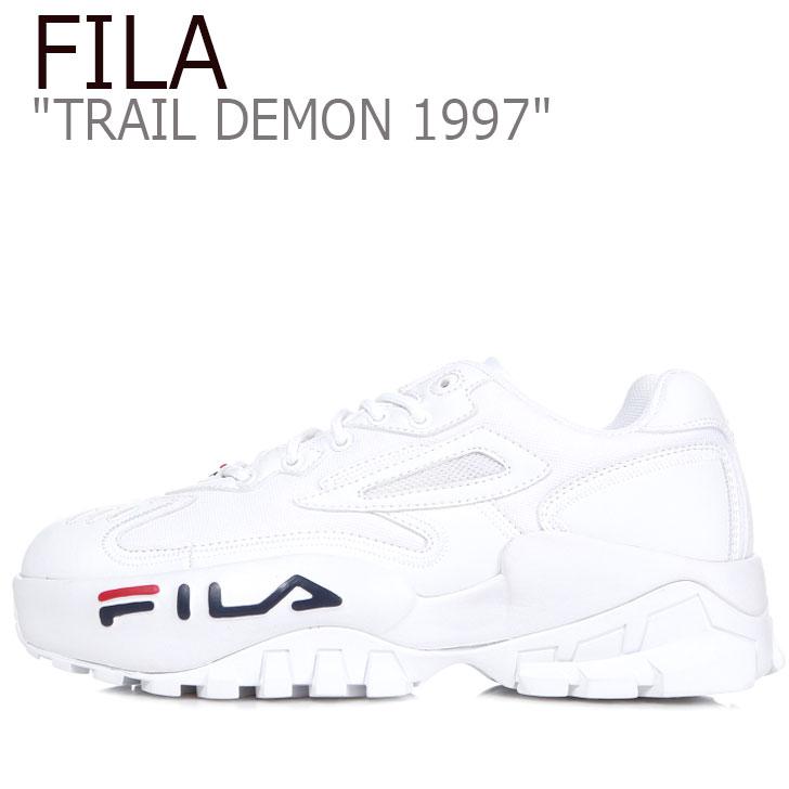 フィラ スニーカー FILA メンズ レディース TRAIL DEMON 1997 トレイル デーモン1997 WHITE ホワイト 1JM00796-125 シューズ