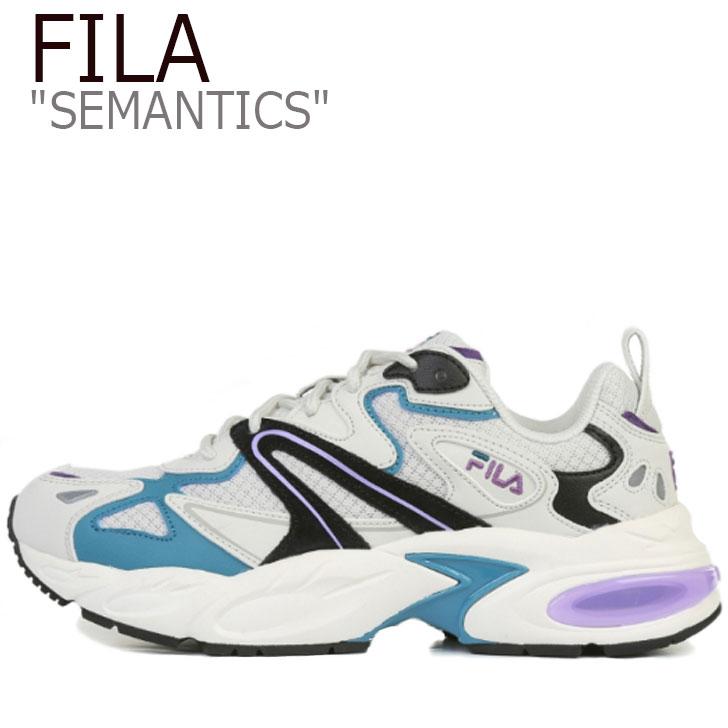 フィラ スニーカー FILA レディース SEMANTICS セマンティクス PURPLE パープル 4RM00744_522 シューズ