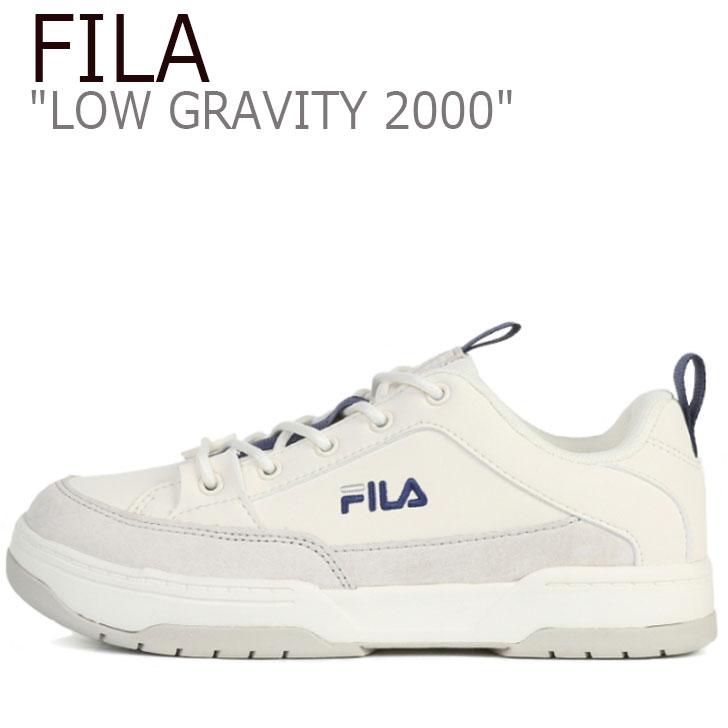 フィラ スニーカー FILA メンズ レディース LOW GRAVITY 2000 ロウ グラビティ 2000 IVORY アイボリー 1XM01007_896 シューズ