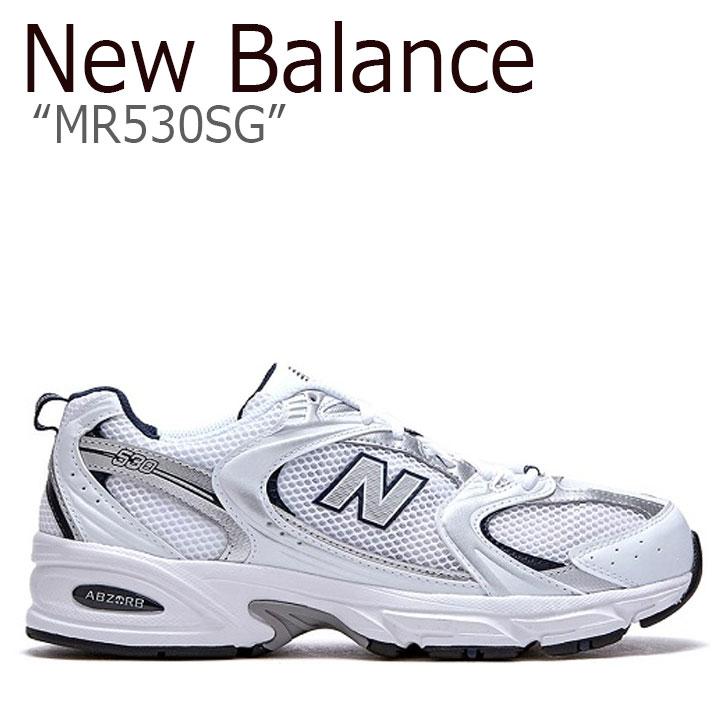 ニューバランス 530 スニーカー New Balance メンズ MR 530 SG new balance 530 WHITE ホワイト FLNBAA1U23 NBPDAS165W MR530SG シューズ 【中古】未使用品