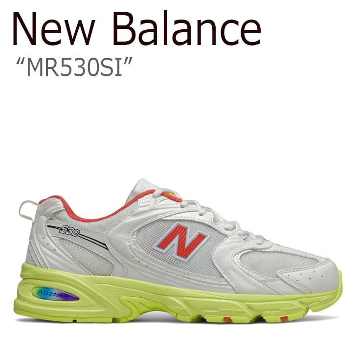 ニューバランス 530 スニーカー New Balance メンズ レディース MR 530 SI new balance 530 WHITE ホワイト YELLOW イエロー RED レッド NBPDAS451W MR530SI シューズ 【中古】未使用品