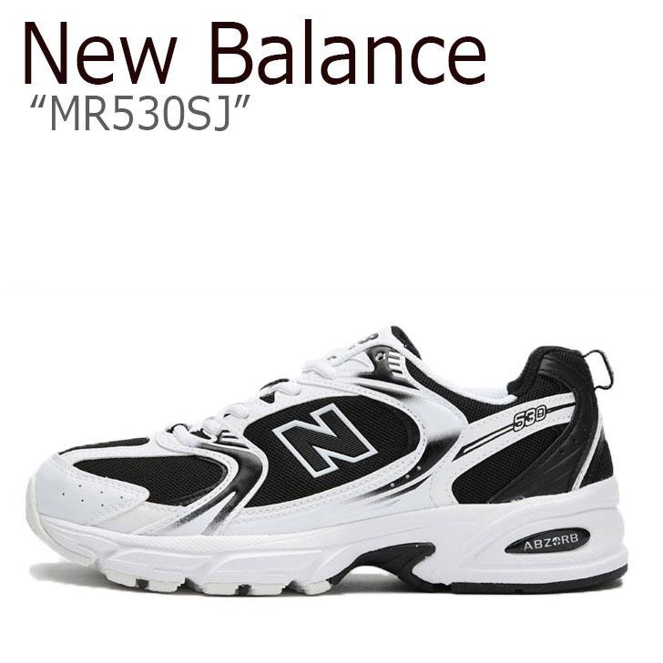 ニューバランス 530 スニーカー New Balance メンズ レディース MR 530 SJ new balance 530 BLACK ブラック WHITE ホワイト NBPDAS176B MR530SJ シューズ 【中古】未使用品