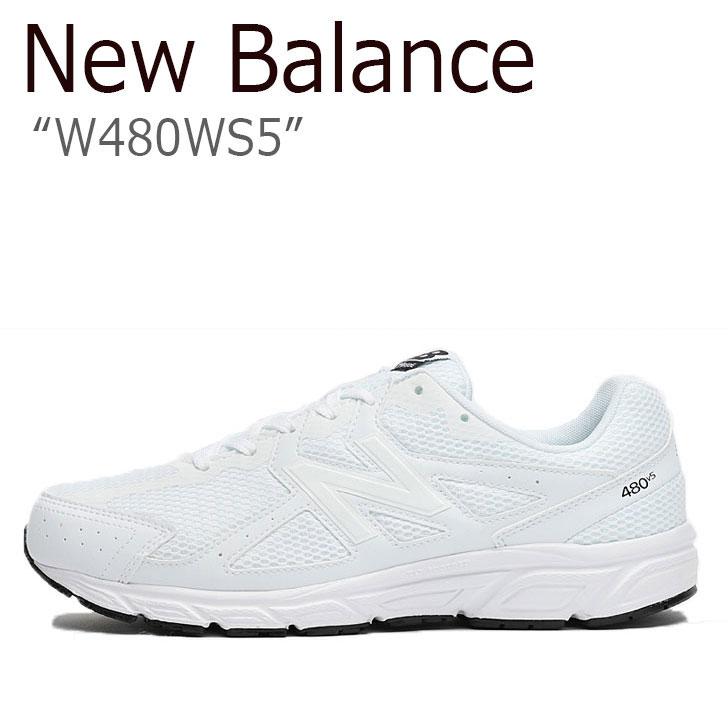 ニューバランス 480 スニーカー New Balance メンズ レディース W 480 WS 5 new balance 480 WHITE ホワイト NBPF9F774W W480WS5 シューズ