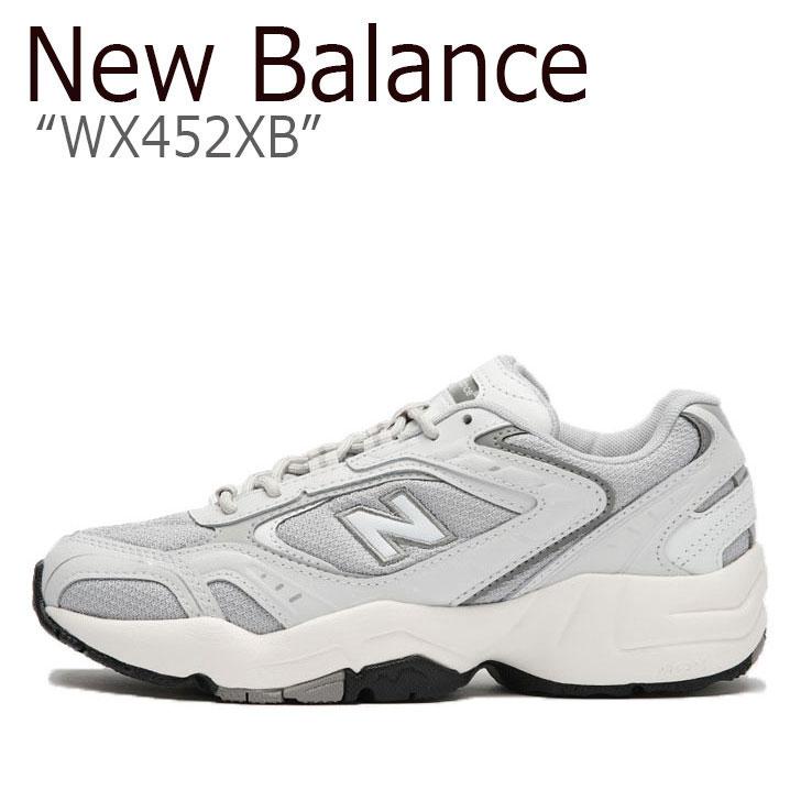 ニューバランス 452 スニーカー New Balance レディース WX 452 XB new balance 452 GRAY グレー NBPDAS157G WX452XB シューズ 【中古】未使用品
