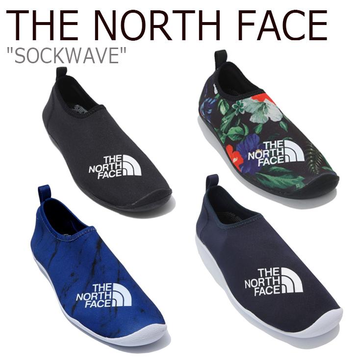 ノースフェイス マリンシューズ THE NORTH FACE メンズ レディース SOCKWAVE ソックウェーブ MOON NIGHT ムーン ナイト BLACK ブラック NAVY ネイビー BLUE ブルー NS92K12A/B/C/J/K/L シューズ