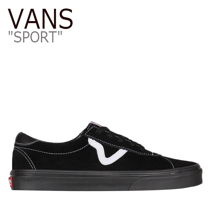 バンズ スニーカー VANS メンズ レディース SPORT スポーツ BLACK ブラック VN0A4BU6BKA シューズ