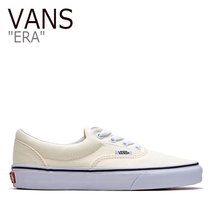 バンズ エラ スニーカー VANS メンズ レディース ERA エラ CLASSIC WHITE クラシックホワイト VN0A4U39FRL シューズ