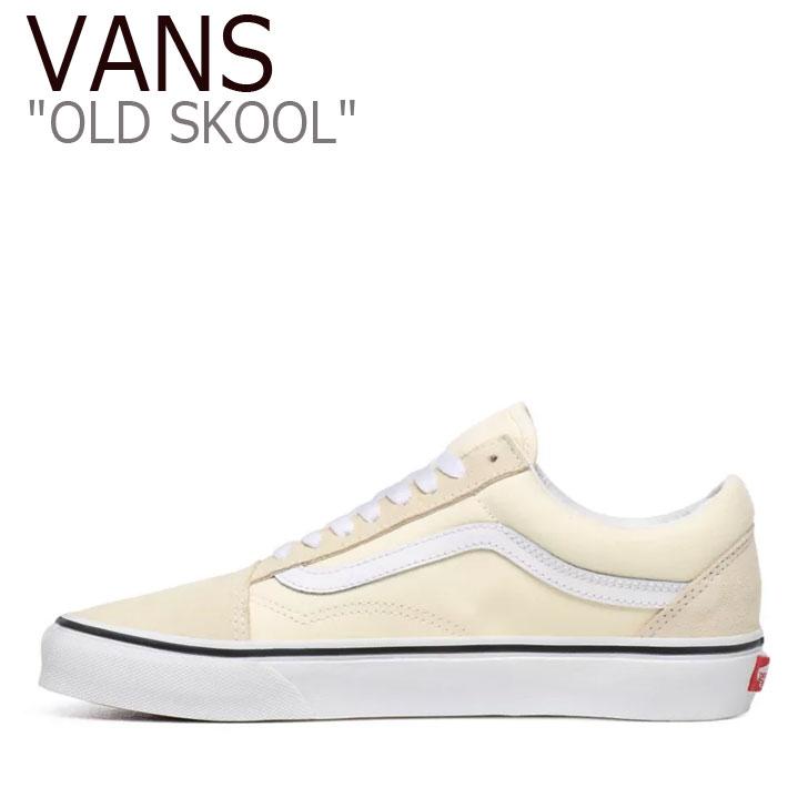 バンズ オールドスクール スニーカー VANS メンズ レディース OLD SKOOL オールド スクール CLASSIC WHITE クラシックホワイト VN0A4U3BFRL シューズ