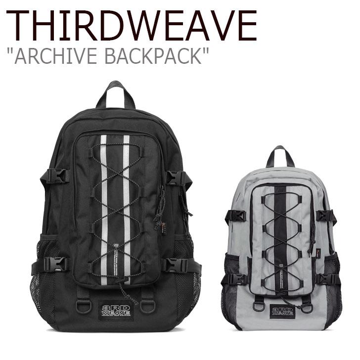 サードウェーブ リュックサック THIRDWEAVE メンズ レディース ARCHIVE BACKPACK アーカイブ バックパック BLACK GRAY ブラック グレー WBP003-101/429 バッグ