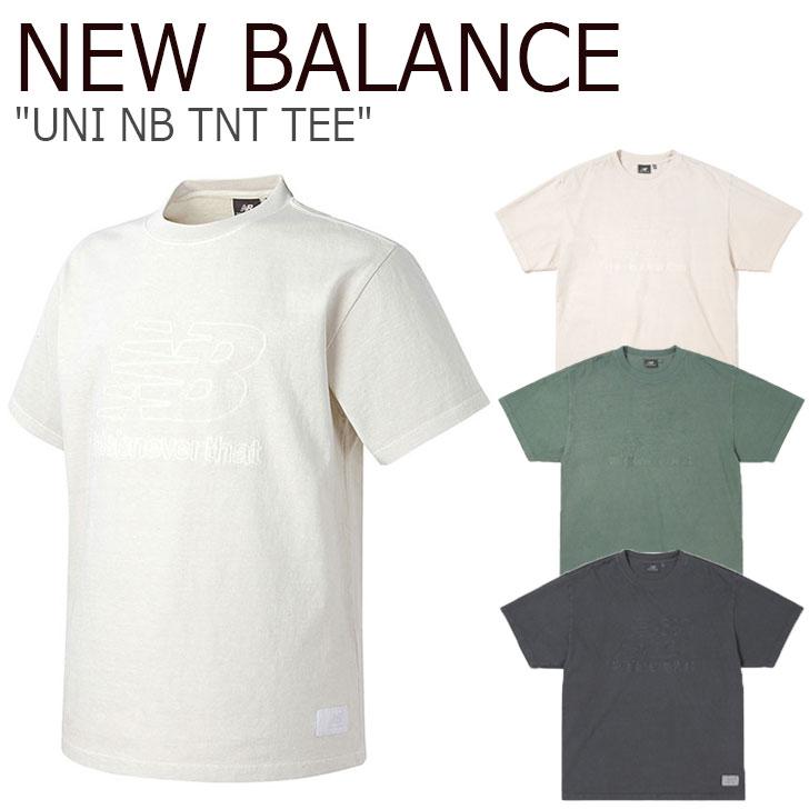 ニューバランス Tシャツ NEW BALANCE メンズ レディース UNI NB TNT TEE ニューバランス × ディスイズネバーザット 半袖 全3色 NBNEA2L113 ウェア 【中古】未使用品