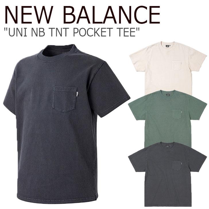 ニューバランス Tシャツ NEW BALANCE メンズ レディース UNI NB TNT POCKET TEE ニューバランス × ディスイズネバーザット ポケット 半袖 全3色 NBNEA2L123 ウェア 【中古】未使用品