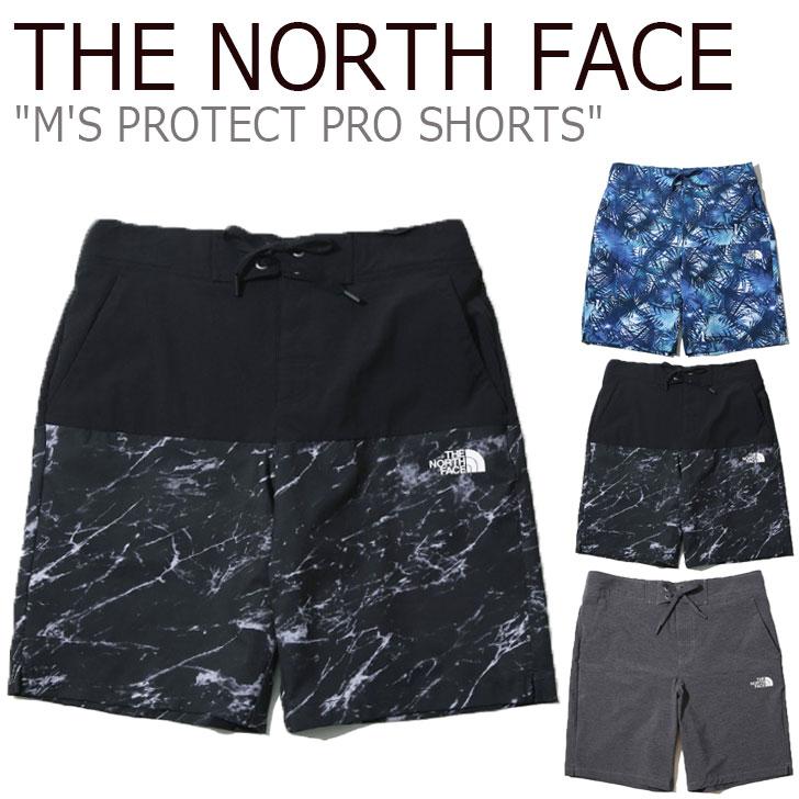 ノースフェイス 水着 THE NORTH FACE メンズ M'S PROTECT PRO SHORTS プロテクト プロ ショーツ 海水パンツ サーフパンツ 全3色 NS6NK03A/B/C ウェア 【中古】未使用品