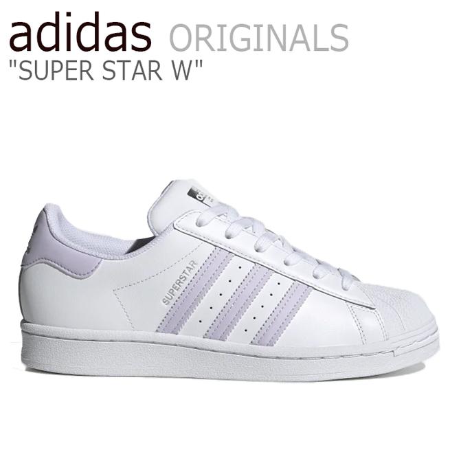 アディダス スーパースター スニーカー adidas メンズ レディース SUPERSTAR W スーパースターW WHITE ホワイト FV3374 シューズ【中古】未使用品
