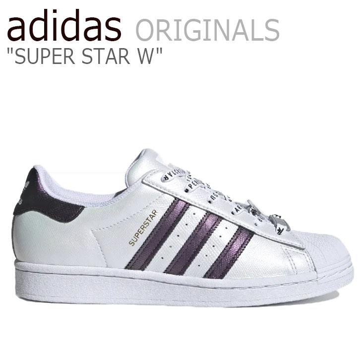 アディダス スーパースター スニーカー adidas メンズ レディース SUPERSTAR W スーパースターW WHITE ホワイト FV3396 シューズ【中古】未使用品