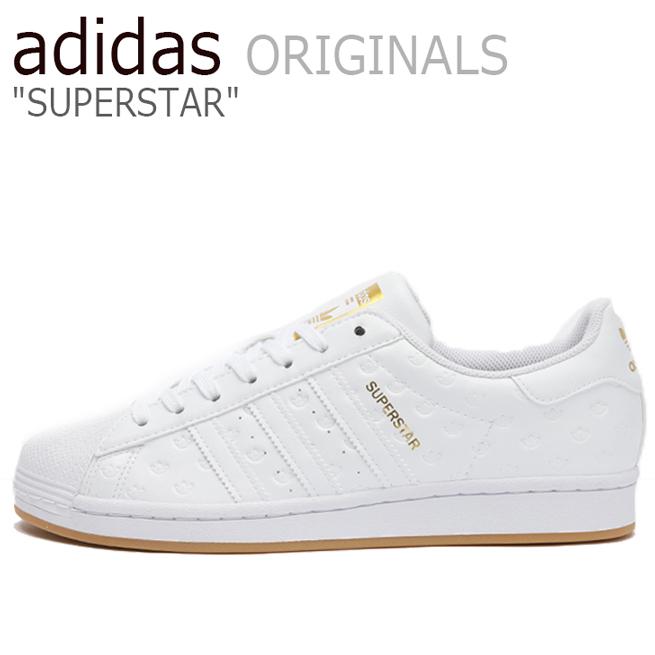 アディダス スーパースター スニーカー adidas メンズ レディース SUPERSTAR スーパー スター WHITE ホワイト FX4044 シューズ【中古】未使用品