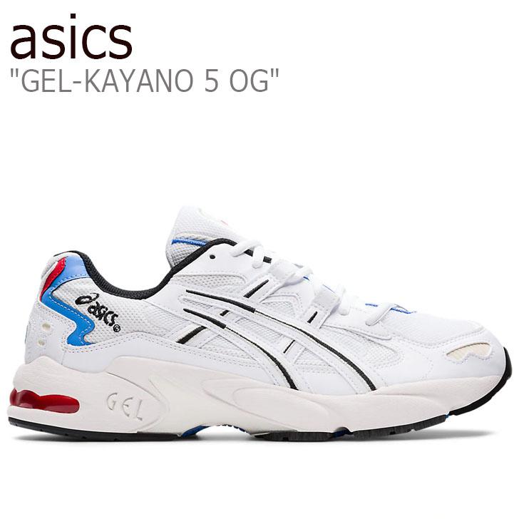 アシックス スニーカー asics メンズ GEL-KAYANO 5 OG ゲルカヤノ5 OG WHITE ホワイト 1021A280-100 シューズ